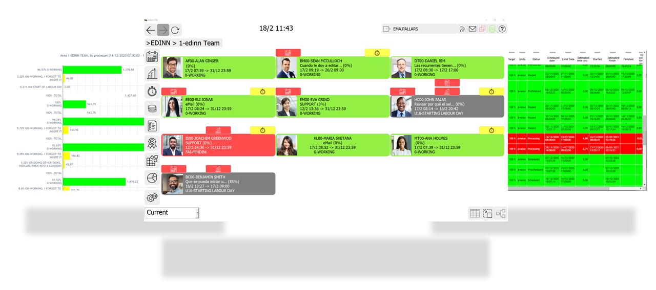 work-management-screens