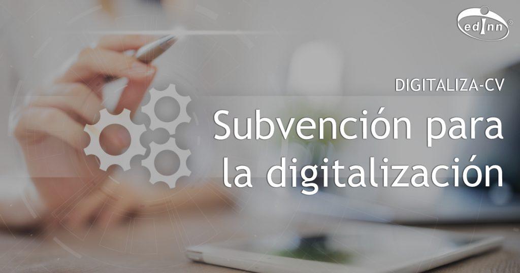 Subvención Digitaliza CV para pymes